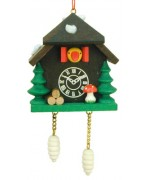 Christian Ulbricht German Ornament Cuckoo Clock - TEMPORARILY OUT OF STOCK