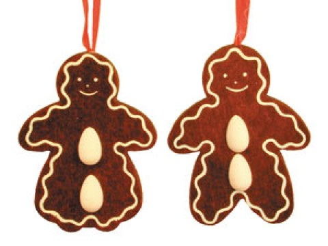 TEMPORARILY OUT OF STOCK - Christian Ulbricht German Ornament Gingerbread Family