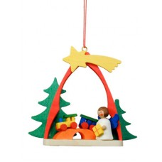 Christian Ulbricht German Ornament Angel with Train - TEMPORARILY OUT OF STOCK