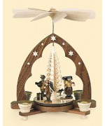 TEMPORARILY OUT OF STOCK - Mueller Erzgebirge Christmas Pyramid