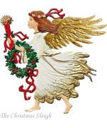 Glorious Angel Anno 2013 Christmas Pewter Wilhelm Schweizer