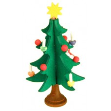 Christian Ulbricht German Ornament Traditional Candle Tree - TEMPORARILY OUT OF STOCK