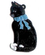 Sitting Cat Hanging Ornament Wilhelm Schweizer