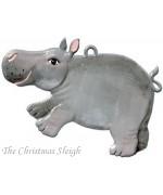 Hippopotamus Hanging Ornament Wilhelm Schweizer