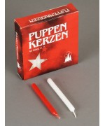 TEMPORARILY OUT OF STOCK - 40 Pack Puppen Kerzen  Puppenkerzen