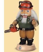 Mueller Nutcracker Ezgerbirge Forest Worker with Power Saw