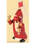 Mueller Smokerman Erzgebirge Modern Santa Claus