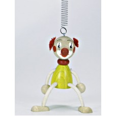 TEMPORARILY OUT OF STOCK - Little Clown GERMAN WOODY JUMPERS!