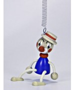 TEMPORARILY OUT OF STOCK - Little Clown with Hat GERMAN WOODY JUMPERS!