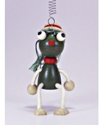 TEMPORARILY OUT OF STOCK - Little Frog GERMAN WOODY JUMPERS!