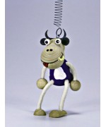 TEMPORARILY OUT OF STOCK - Little Moo Cowtoys GERMAN WOODY JUMPERS!