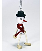 TEMPORARILY OUT OF STOCK - Mr. Snowman GERMAN WOODY JUMPERS!