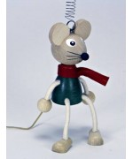 TEMPORARILY OUT OF STOCK - Winter Mouse GERMAN WOODY JUMPERS!
