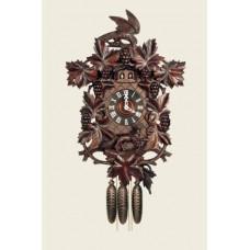 TEMPORARILY OUT OF STOCK  Hubert Herr Middleburg Cuckoo Clock Fox - Fuchs