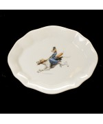 TEMPORARILY OUT OF STOCK<BR><BR>Fox China SOAP TRAY