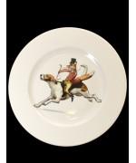 Fox China Plate