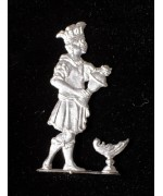 TEMPORARILY OUT OF STOCK <BR><BR> Wilhelm Schweizer Unpainted Pewter