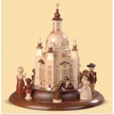 TEMPORARILY OUT OF STOCK - Historic figurines shown with Frauenkirche church