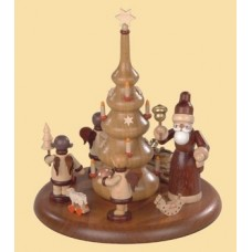 TEMPORARILY OUT OF STOCK - Music boxes - Santa and gift-bringing angels