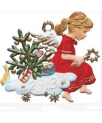 2013 Christmas Angel Christmas Pewter Wilhelm Schweizer - TEMPORARILY OUT OF STOCK