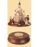 TEMPORARILY OUT OF STOCK - Historic figurines shown with Frauenkirche church   Plus the BT B