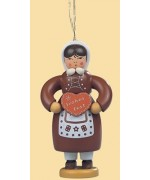 Mueller Hanging Ornaments Gingerbread Woman