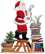 TEMPORARILY OUT OF STOCK - Jahresnikolaus 2013 Christmas Pewter Wilhelm Schweizer
