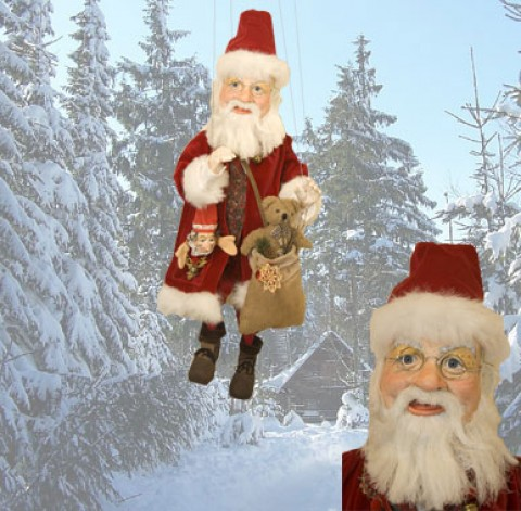 Santa Marionette - TEMPORARILY OUT OF STOCK