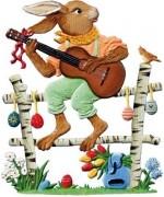 2014 Easter Bunny Wilhelm Schweizer Easter Oster Pewter