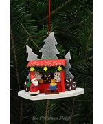 TEMPORARILY OUT OF STOCK - Christian Ulbricht German Ornament Christkindlmarket Santa