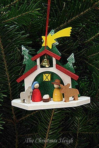 TEMPORARILY OUT OF STOCK - Christian Ulbricht German Ornament Chapel with Holy Family