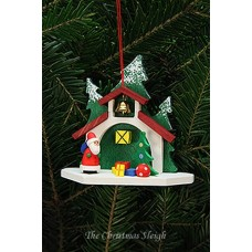 Christian Ulbricht German Ornament Chapel with Santa - TEMPORARILY OUT OF STOCK