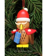 Christian Ulbricht German Ornament Owl Santa