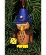 Christian Ulbricht German Ornament Owl Nightwatchman