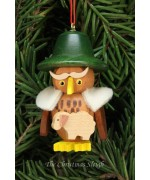 Christian Ulbricht German Ornament Shepherd Owl