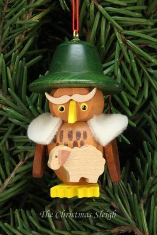 Christian Ulbricht German Ornament Shepherd Owl
