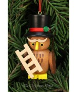 Christian Ulbricht German Ornament Chimney Sweep Owl
