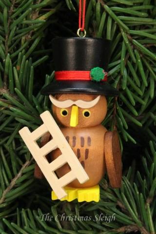 Christian Ulbricht German Ornament Chimney Sweep Owl
