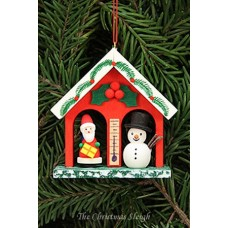 Christian Ulbricht German Ornament Weather House - TEMPORARILY OUT OF STOCK