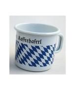 Bavarian Coffee Cup  Enamelware