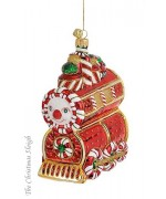 TEMPORARILY OUT OF STOCK JingleNog  Glass Ornaments  Peppochoo
