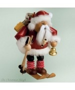 KWO Smokerman Santa Claus Skiing
