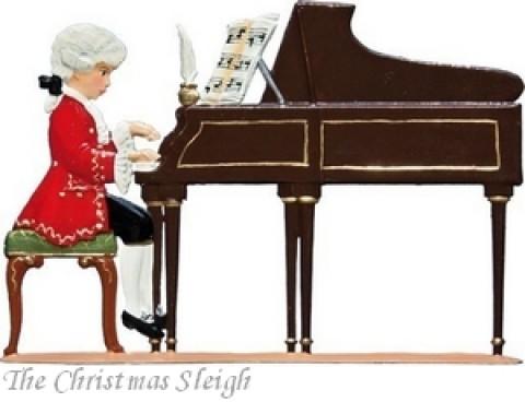 Mozart Standing Pewter Wilhelm Schweizer
