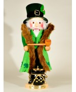 TEMPORARILY OUT OF STOCK Irish Santa Musical Christmas Legends Series Christian Steinb