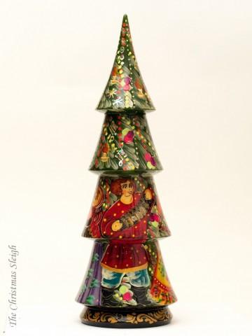 TEMPORARILY OUT OF STOCK - Christmas Tree Bottle Holder G. Debrekht