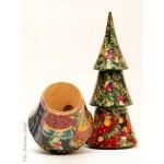Christmas Tree Bottle Holder G. Debrekht - TEMPORARILY OUT OF STOCK