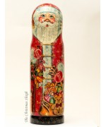 Santa with Gifts  Bottle Holder G. DeBrekht - TEMPORARILY OUT OF STOCK