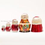 Santa's Workshop Nesting Doll G. DeBrekht - TEMPORARILY OUT OF STOCK