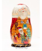 Santa's Workshop Nesting Doll G. DeBrekht - TEMPORARILY OUT OF STOCK