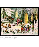 TEMPORARILY OUT OF STOCK - Old German Paper Advent Calendar